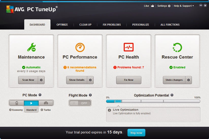 avg pc tuneup crack