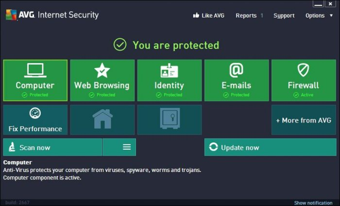 AVG Internet Security 2017 Serial Key 100% Working - Working Keys