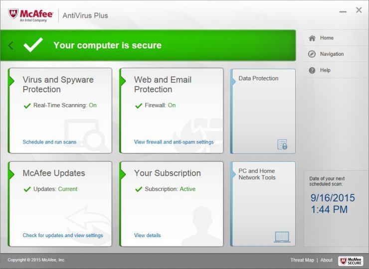 McAfee Antivirus 2017 License Key With Crack Is Here