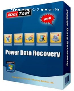 MiniTool Power Data Recovery 7.01 Serial Key + Crack [Lifetime]