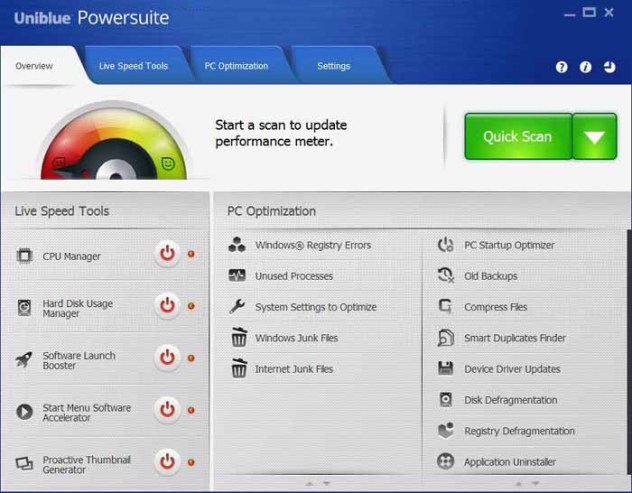 Uniblue PowerSuite 4.7.1.0 Crack & Serial Key Download {Win + Mac}