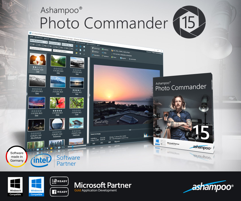 Ashampoo Photo Commander 16.3.1 Crack & Serial Key Download