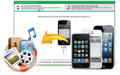 Tenorshare iPhone Data Recovery 7.6.0.0 Serial Key Crack [Latest]