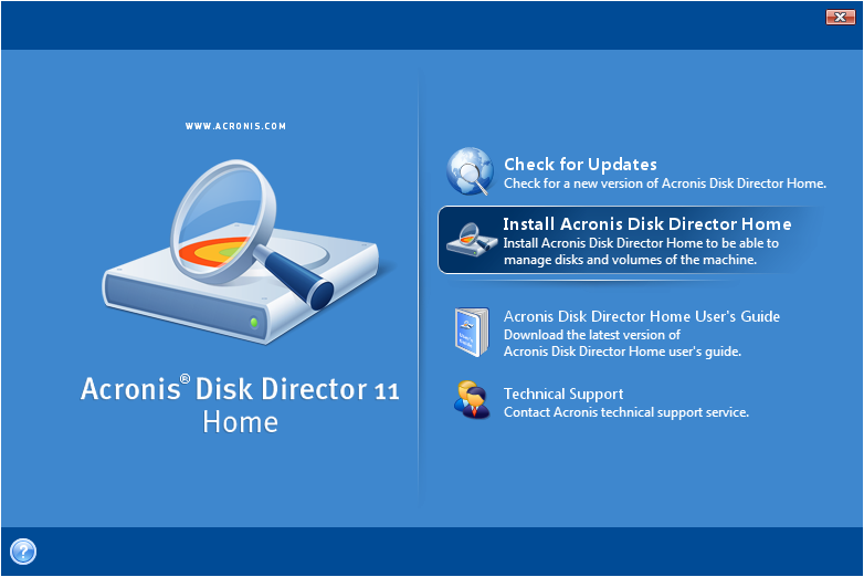 Acronis Disk Director 12.0.3270 Crack & Serial Key Download