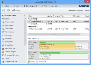 Acronis Disk Director 12.5 Build 163