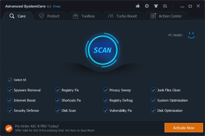 Advanced SystemCare 10.0.3.680 Serial Key Plus Crack Download