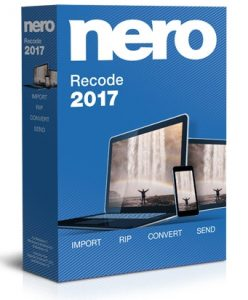 Nero Recode 18.0 2017 Serial Key Plus Crack Full Free [Latest]