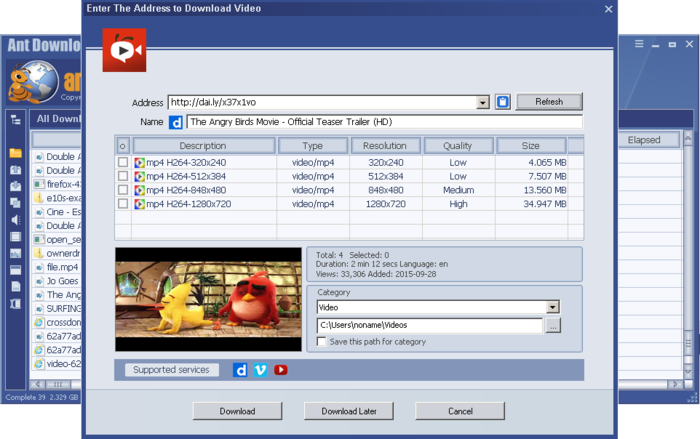 Ant Download Manager PRO Crack 1.4.1 Build 39614 Full Version Free Download