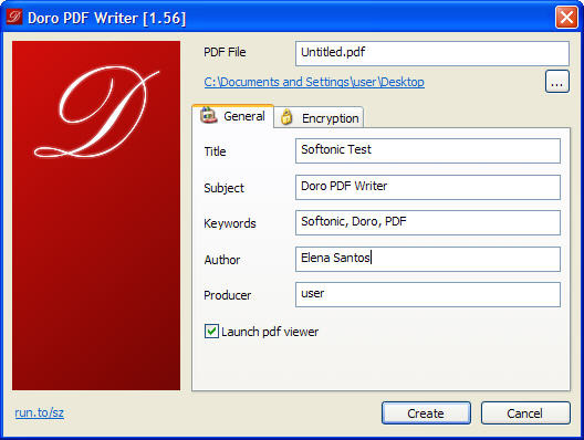Doro PDF Writer 2.10 Free Download