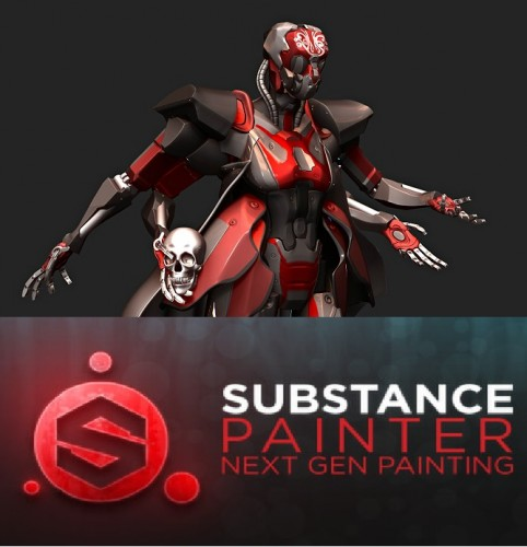 Allegorithmic Substance Painter 2.5.1.1498 Download 2017 [Win + Mac]