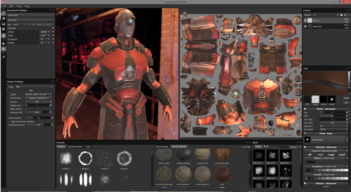 Allegorithmic Substance Painter 2 5 1 1498 Download 2018 [Win + Mac]