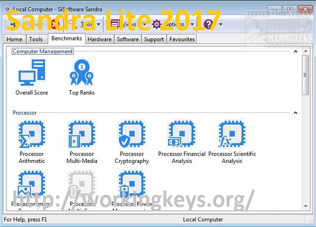 Sandra Lite 2017 Portable SP3 (24.50) Download Free [Win + Mac]