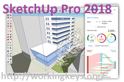 SketchUp Pro 2018 Serial Keys + Crack Download Free 100% Working