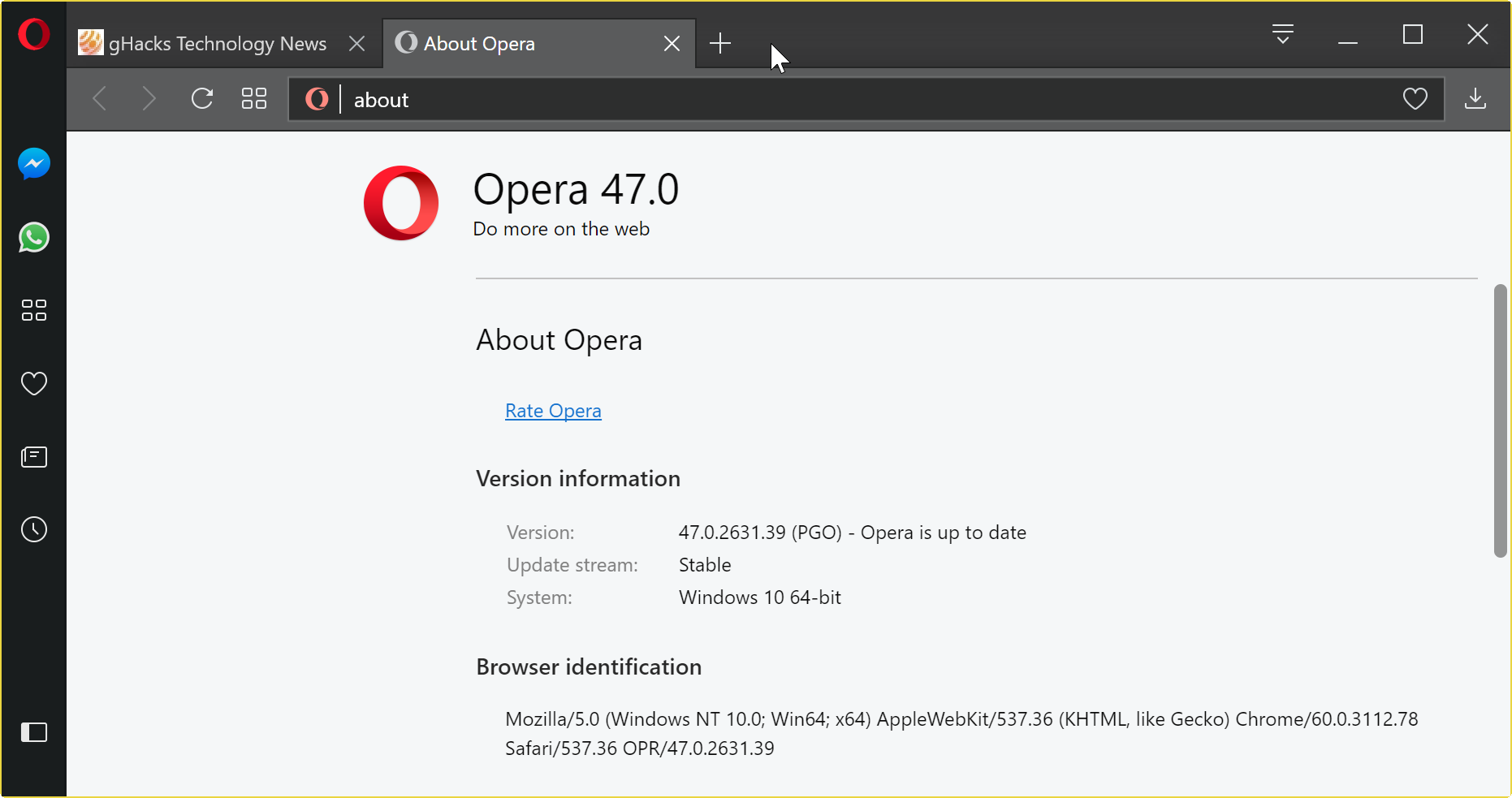 Opera 50.0 Build 2762.67 Download Free For Windows ( 32/64 Bits)