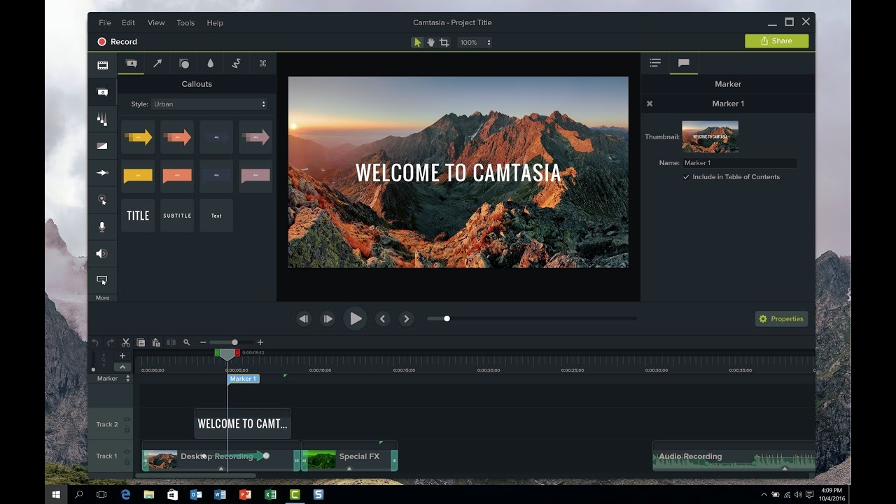 Camtasia Studio 9.1.2 Crack & Serial Key Download [Portable]
