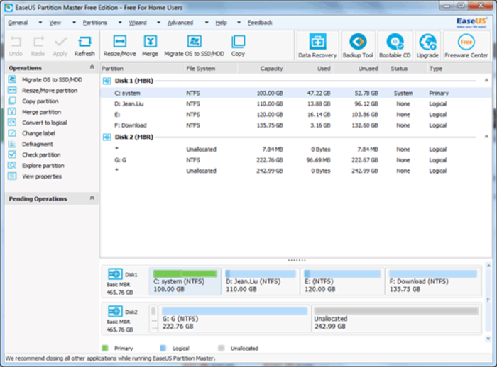 EaseUS Partition Master 12.11 Crack & Serial Key Download [Pro]