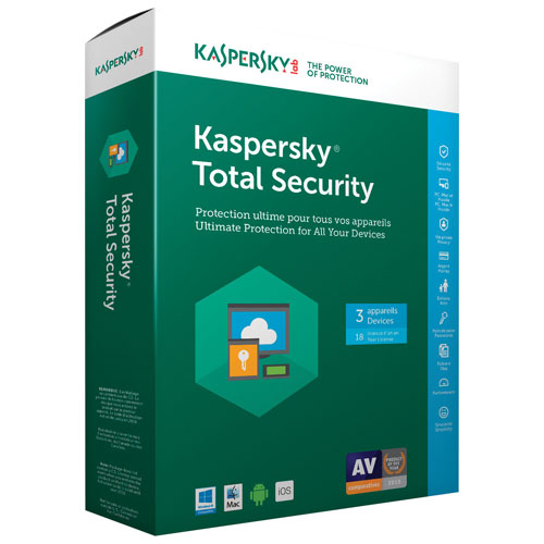 Kaspersky Total Security 2018 Crack & License Key Is Here