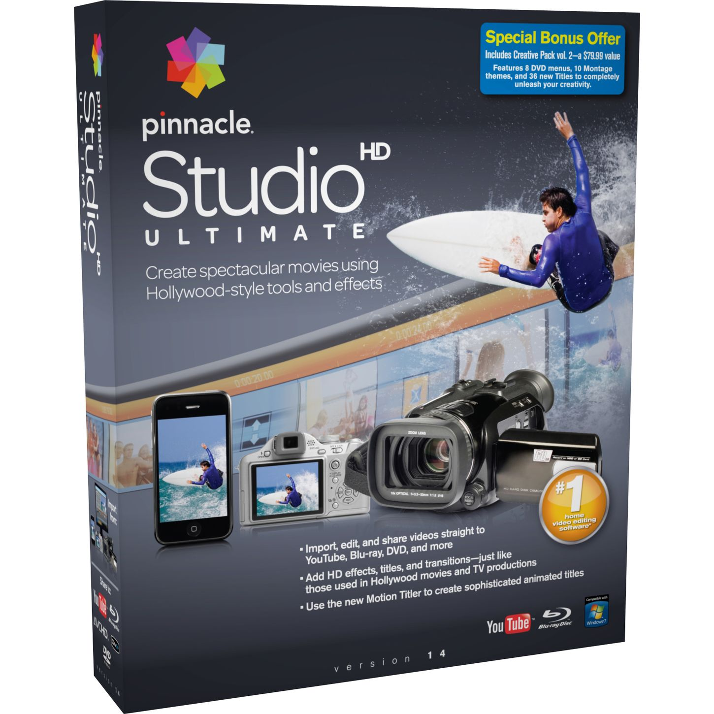 Pinnacle Studio 22.2.0.325 Crack & Serial Key Download Free