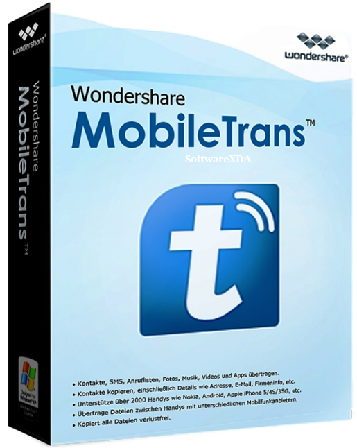 Wondershare MobileTrans 7.9.7 Crack & Serial Key 2018 Download