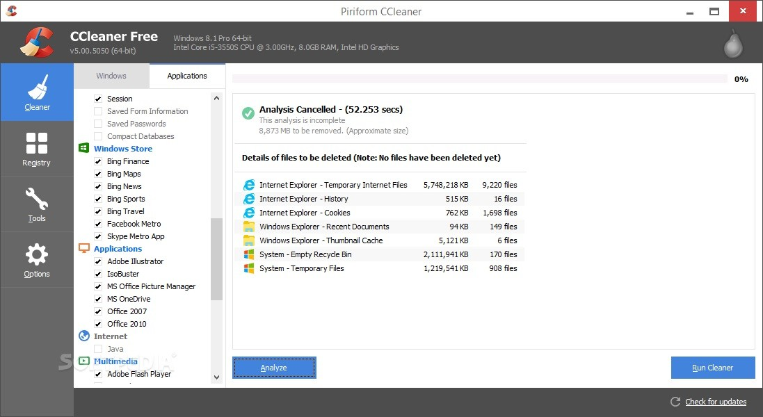 CCleaner Professional 5.40 Crack & Serial Keys Download [2018]