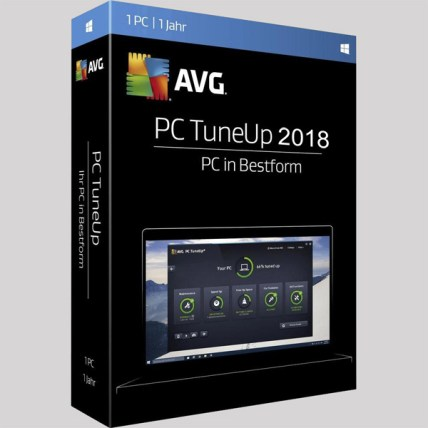 AVG PC TuneUp 2018 v16.76 Crack & Product Key Free Download