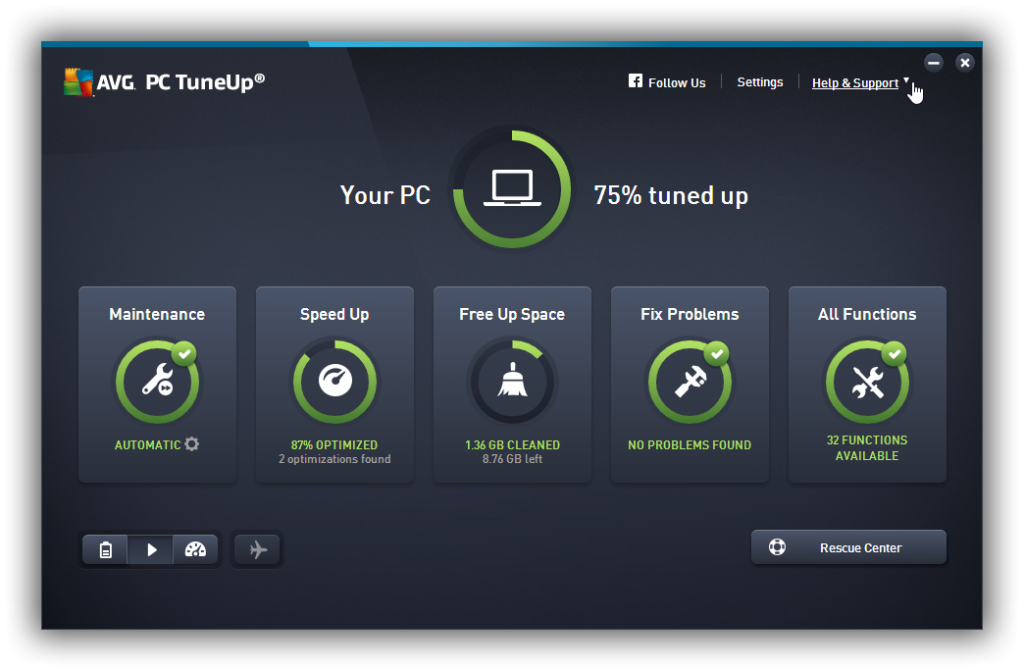 AVG PC TuneUp 19.1.1209 Crack & 2020 Serial Key Download - Latest
