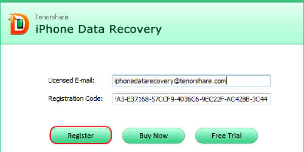 Tenorshare iPhone Data Recovery 8.7.0 Serial Key 2020 Crack [Latest]
