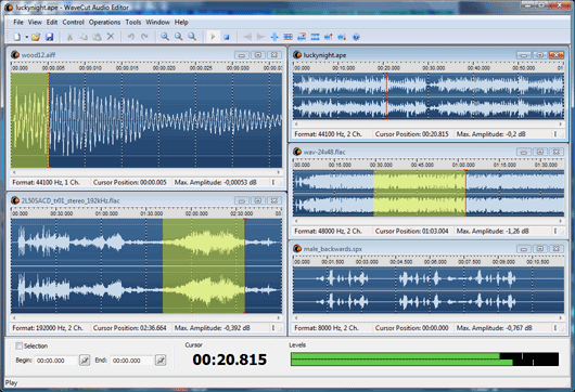 AbyssMedia WaveCut Audio Editor 6.0.0.0 Crack & Serial Key Download
