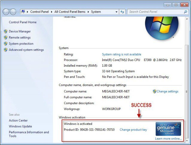 windows 7 full free download with key