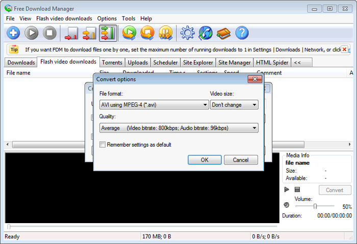 Download Manager 5.1.32 build 6573 With Portable For Windows