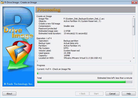 R Drive Image Software