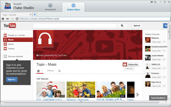 iSkysoft iTube Studio 6.1.1.6 2021 Crack & License Key Download